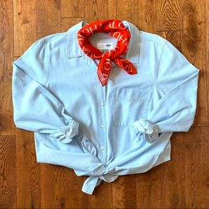 OLD NAVY Chambray Classic Shirt